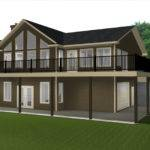 Walkout Basements Plans Edesignsplansca Bungalow