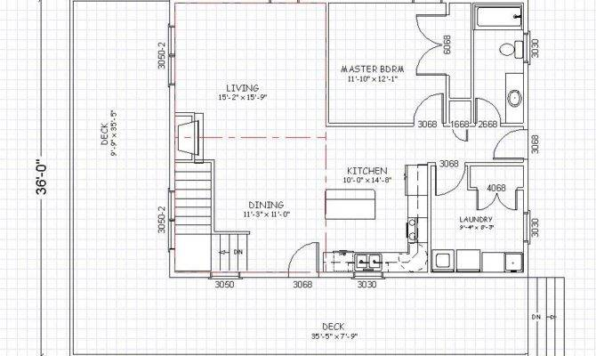 Walkway Out Basement Plan Icon Cabin Plans Walkout
