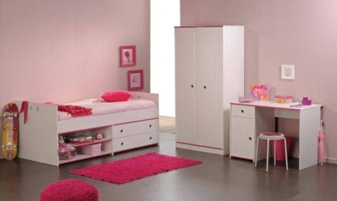 Wand Rosa Farbe Moderne Einrichtung Das Kinderzimmer