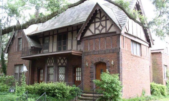Warm English Cottage Style Architecture House
