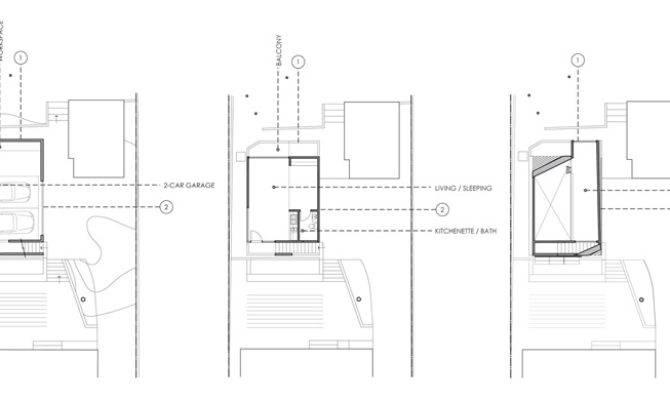 Warren Techentin Architecture Designs Montrose Duplex