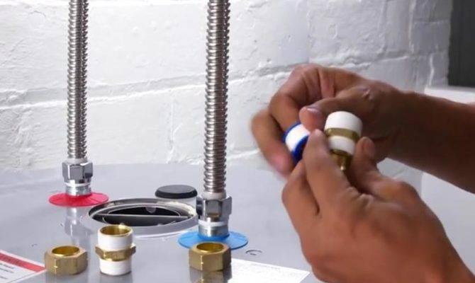 Water Heater Installation Part New