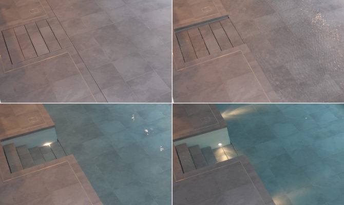 Water Luxury Swimming Pools Moving Floor