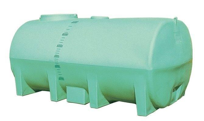 Water Tanks Horizontal Mobile Plastic Tank
