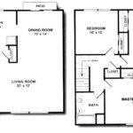 Waterford Bedroom Duplex Bath Floor Plan