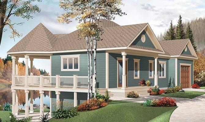 Waterfront House Plans Plan Wrap