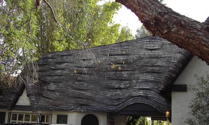Wave Roof Storybook Cottage Style Home Found