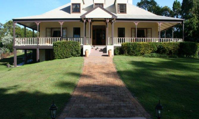 Weatherboard Colonial House Exterior Balustrades