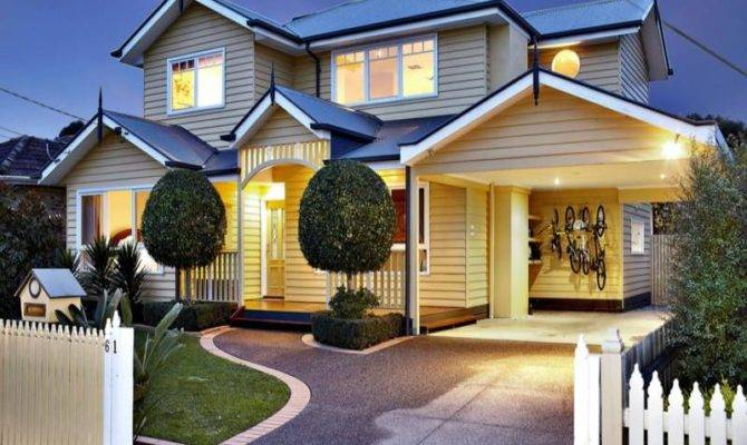 Weatherboard House Exterior Real