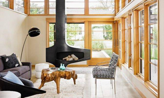 Well Appointed Catwalk Modern Rooms Wood Burning Stoves