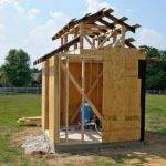 Well Pump Double Carpentry Designed New House