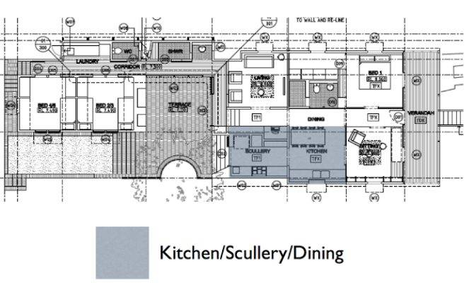West End Cottage Kitchen Plans Idea Food Flow