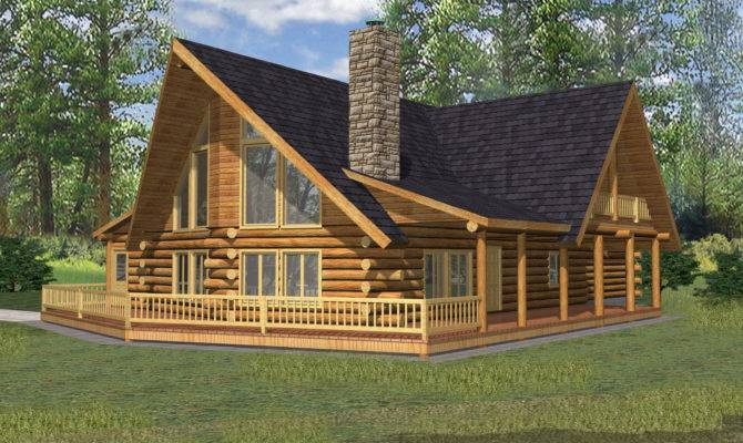 West Style Log Home Cabin Design Coast Mountain Homes