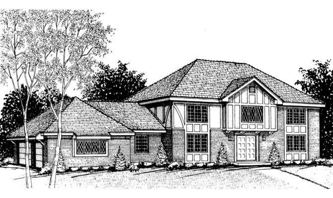 Westcanter Colonial Luxury Home Plan House