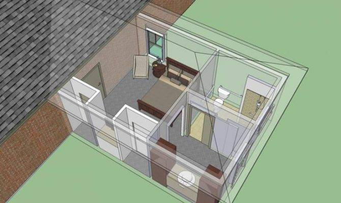 Wheelchair Accessible Mother Law Bedroom Suite Addition