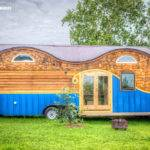 Whimsical Tiny House Four Contains Loft Bedrooms