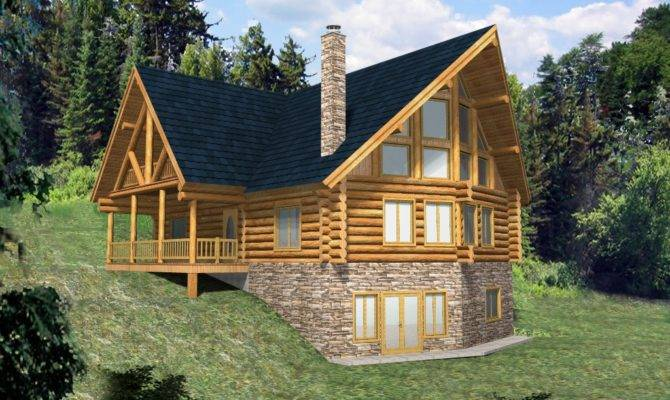 Whistler Style Log Home Design Coast Mountain Homes