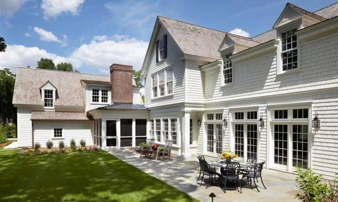 White Colonial Farmhouse Tour Murphy