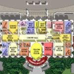 White House Floor Plan Second Museum