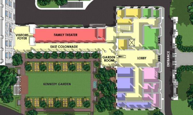 White House Floor Plan West Wing East