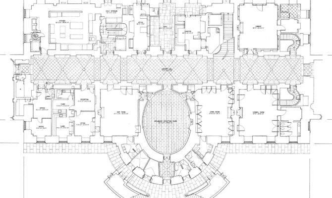 White House Floor Plans Unique Home Designs