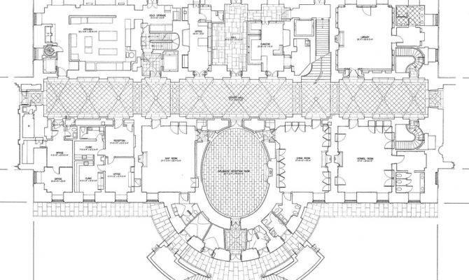 White House Floorg Plan Wikimedia Commons