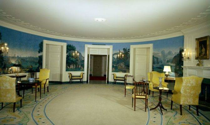 White House Rooms Remodeling Work Diplomatic Reception