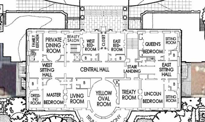 White House Second Floor Plan Enchanted Manor