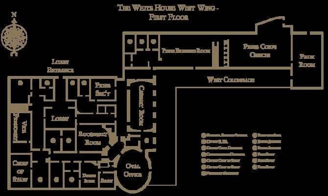 White House West Wing Floorplan Svg Wikipedia
