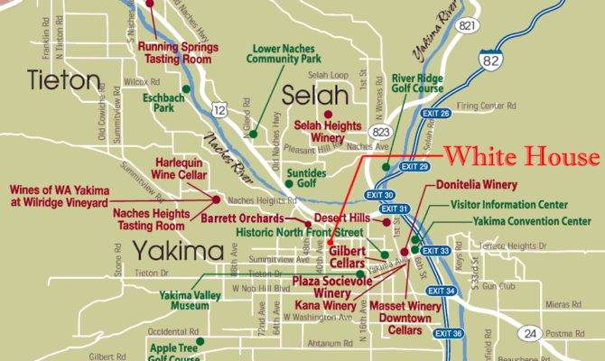 White House Yakima Attractions