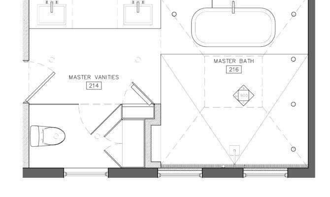 White Master Bath Best Layout Room