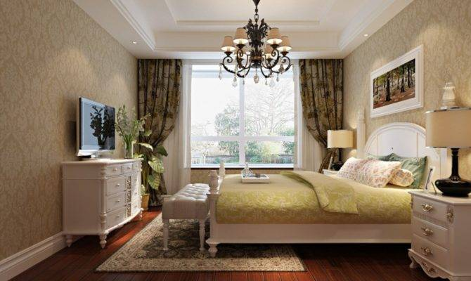 White Neo Classical Style Furniture Bedroom House