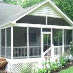 White Screen Porch Plans Home Decoration