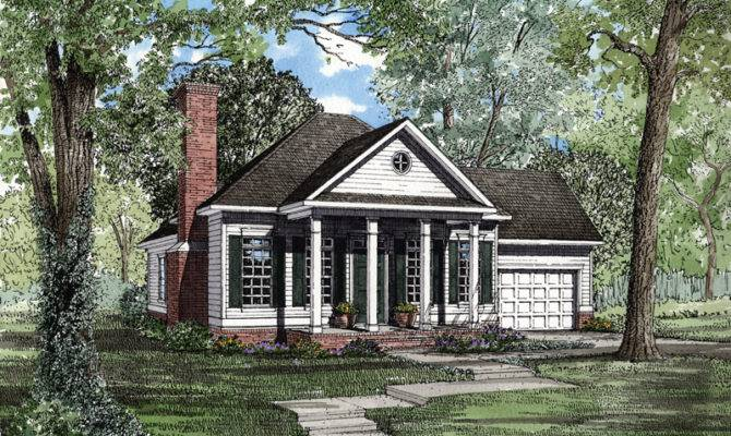 Whitworth Colonial Ranch Home Plan House Plans