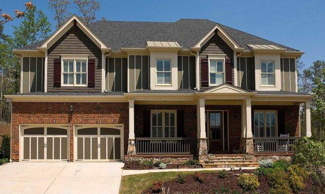 Wide Front Porch Architectural Designs House