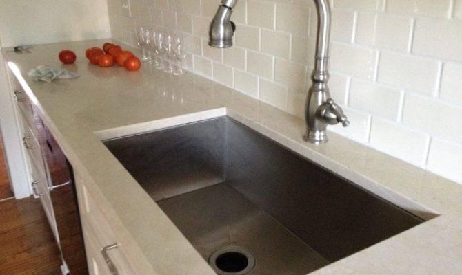 Wide Kitchen Sink