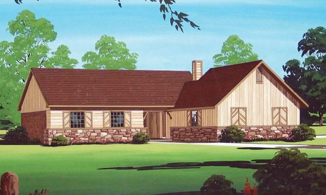 Wilburn Rustic Ranch Home Plan House Plans