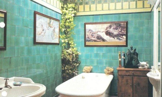 William Morris Style Arts Crafts Movement Bathrooms