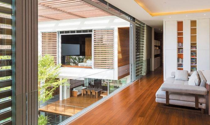 Wind House Combination Nature Architecture
