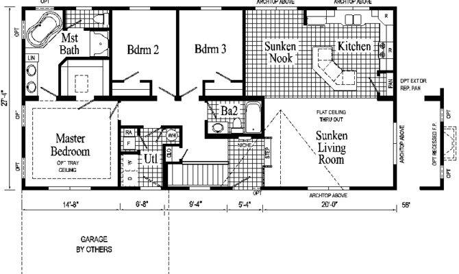 Windham Ranch Style Modular Home Pennwest Homes Model