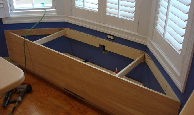 Window Bench Seat Storage Plans