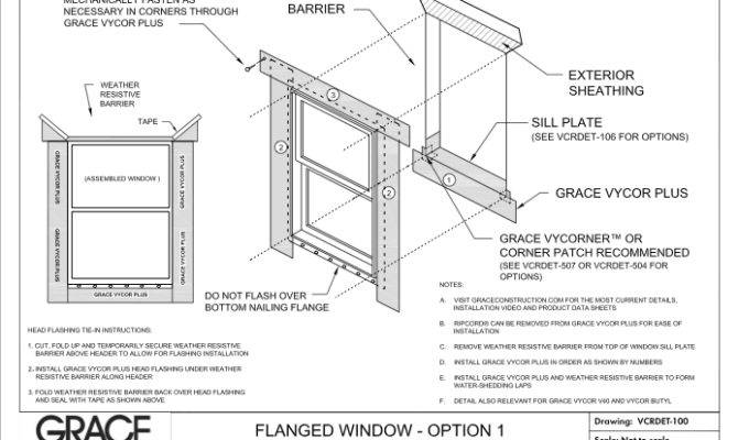 Window Construction Details Group Tag