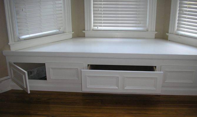 Window Seat Bench Storage Plans