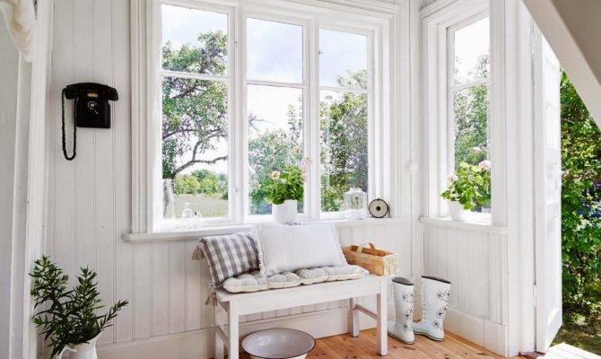 Windows Scandinavian Fancy Bright Country House Sweden