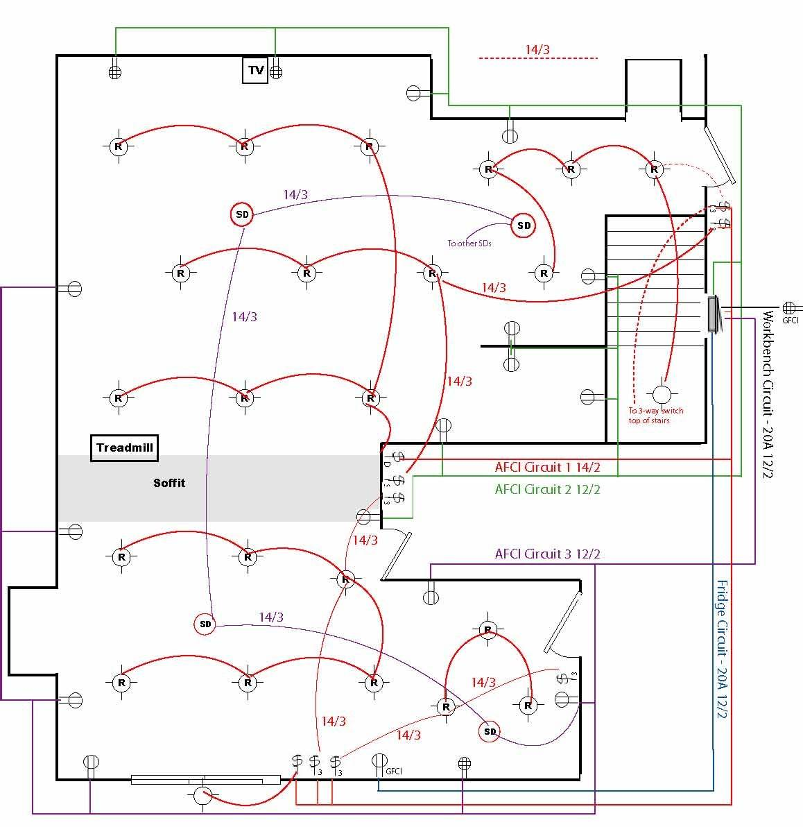 Wiring Diagram Basic House Electrical - House Plans | #143034 | Wiring Schematic Drawing Of House |  | House Plans