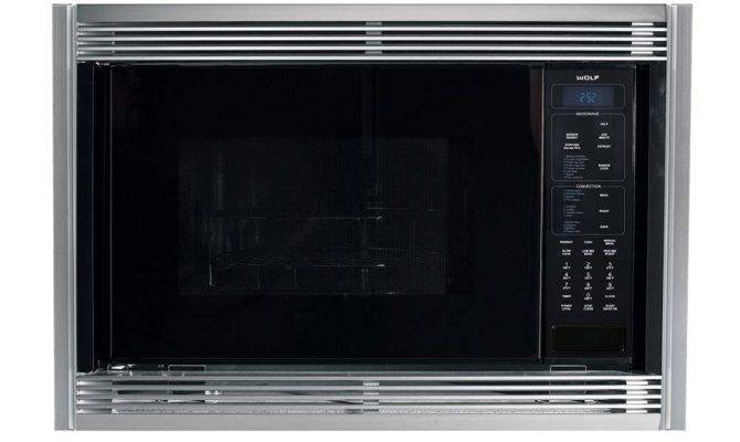 Wolf Black Inch Built Microwave Oven