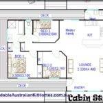 Wombat Bedroom Studio Grannt Flat Kit Home Singe Level