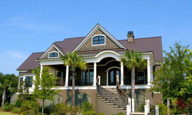 Wonderful Charleston Style House Plans Building