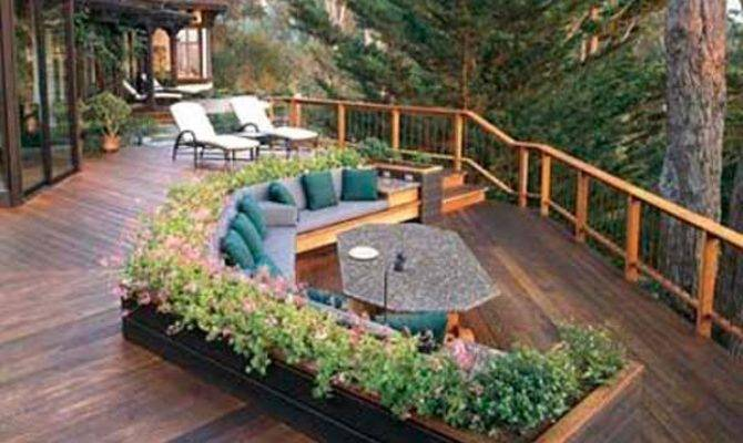 Wonderful Deck Designs Make Your Home Extremely