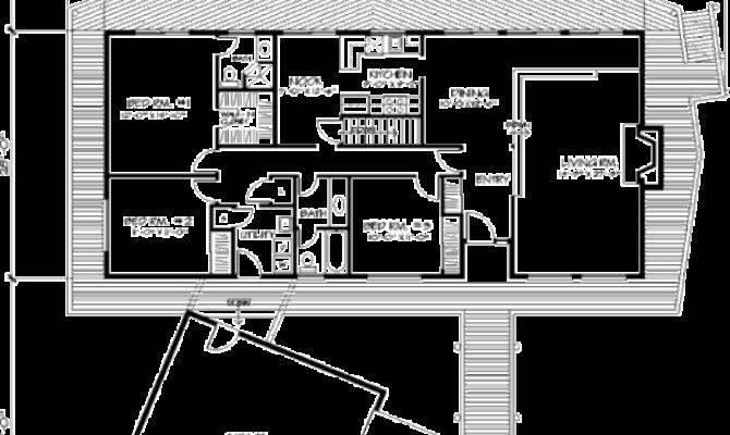 Wonderful Deck House Plan